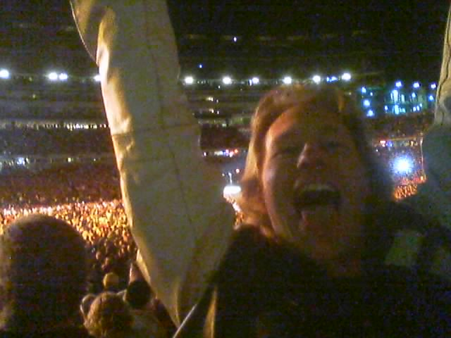 Graham at the Rolling Stones