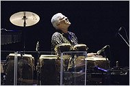 Don Alias in a tribute to Jaco Pastorius at the JVC Jazz Festival in 2005.